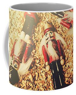 Retro Nutcrackers Coffee Mug