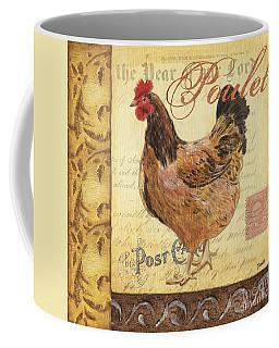 Retro Rooster 1 Coffee Mug