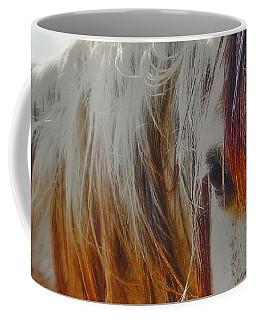 Retro Sunlight And Grey Coffee Mug