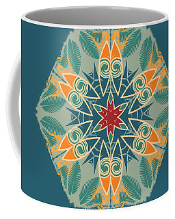 Coffee Mug featuring the photograph Retro Surfboard Woodcut by Mary Machare