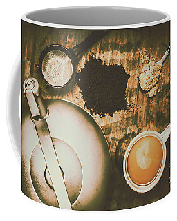 Retro Tea Background Coffee Mug