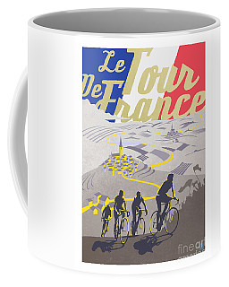 Cyclist Coffee Mugs