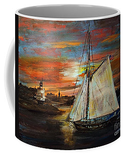 Returning Home Coffee Mug