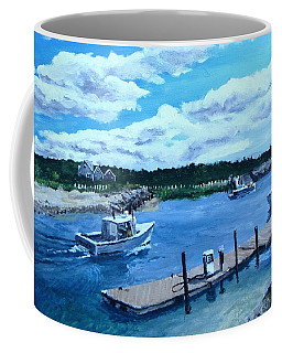 Returning To Sesuit Harbor Coffee Mug