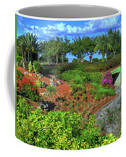 Coffee Mug featuring the photograph Reunion Resort  by Tom Prendergast