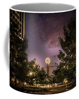Reunion Tower In Dallas, Texas Coffee Mug