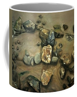 Revealed At Low Tide Coffee Mug