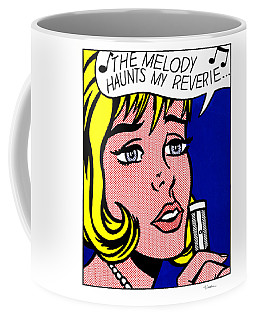 Reverie Coffee Mug by Roy Lichtenstein