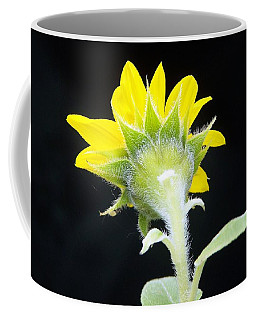 Reverse Sunflower Coffee Mug