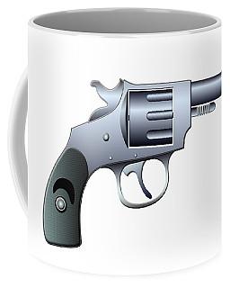 Revolver Coffee Mug by Michal Boubin