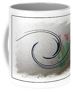 Reward At The Edge Of The Curve Coffee Mug by Lenore Senior