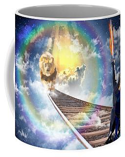 Coffee Mug featuring the digital art Reward by Dolores Develde