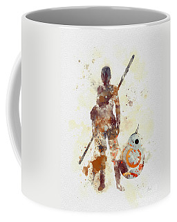 Rey And Bb8 Coffee Mug