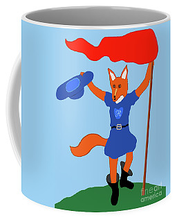 Reynard The Fairy Tale Fox Coffee Mug by Marian Cates