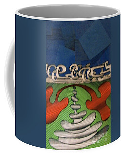 Coffee Mug featuring the drawing Rfb0102 by Robert F Battles