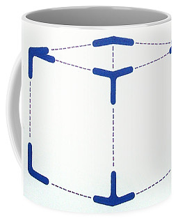 Coffee Mug featuring the drawing Rfb1010 by Robert F Battles