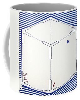 Coffee Mug featuring the drawing Rfb1011 by Robert F Battles