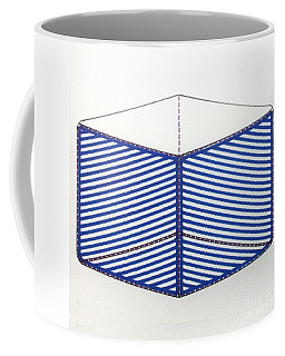 Coffee Mug featuring the drawing Rfb1012 by Robert F Battles