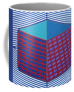 Coffee Mug featuring the drawing Rfb1016 by Robert F Battles