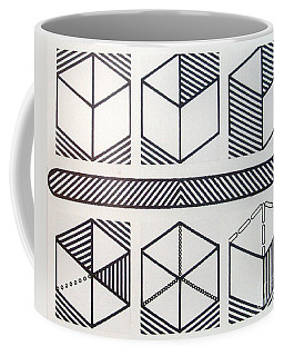 Coffee Mug featuring the drawing Rfb1018 by Robert F Battles