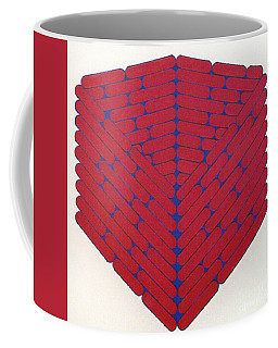 Coffee Mug featuring the drawing Rfb1019 by Robert F Battles