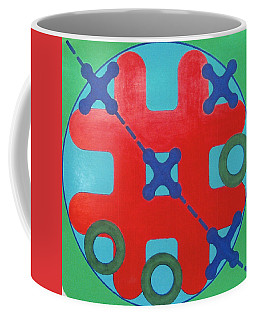 Coffee Mug featuring the drawing Rfb1023 by Robert F Battles