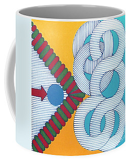 Coffee Mug featuring the drawing Rfb1024 by Robert F Battles