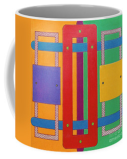 Coffee Mug featuring the drawing Rfb1025 by Robert F Battles