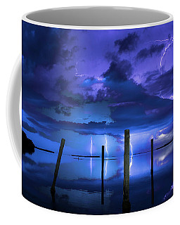 Blue Nights Coffee Mug by Quinn Sedam