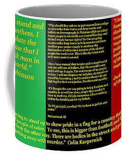 Colin Kaepernick Rbg Coffee Mug