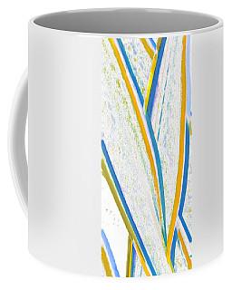 Rhapsody In Leaves No 3 Coffee Mug by Ben and Raisa Gertsberg