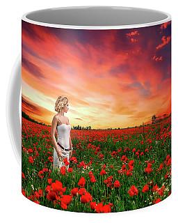 Rhapsody In Red Coffee Mug