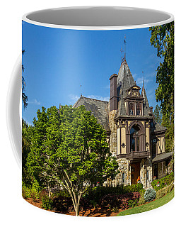 Coffee Mug featuring the photograph Rhine House At Beringer Estates by Bill Gallagher