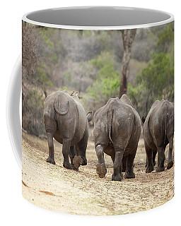 Rhino Trio Coffee Mug