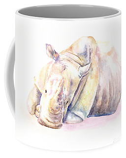 Rhino Two Coffee Mug