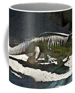 Coffee Mug featuring the photograph Rhinoceros Iguana by Miroslava Jurcik