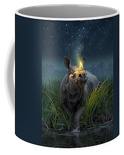 Rhinoceros Unicornis Coffee Mug