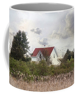 Coffee Mug featuring the photograph Rhode Island Red by Robin-Lee Vieira
