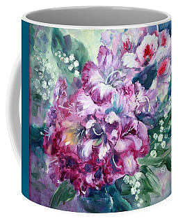 Rhododendron And Lily Of The Valley Coffee Mug