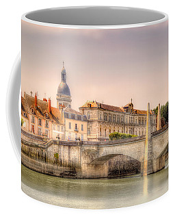 Bridge Over The Rhone River, France Coffee Mug