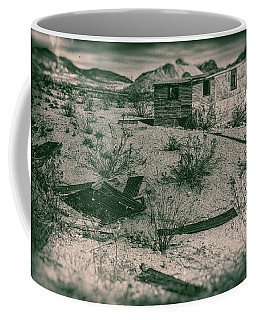 Rhyolite Nevada Ghost Town Shack Coffee Mug by Bartz Johnson