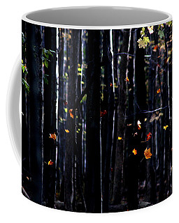 Rhythm Of Leaves Falling Coffee Mug