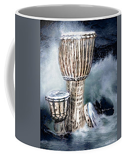 Coffee Mug featuring the digital art Rhythm by Pennie McCracken