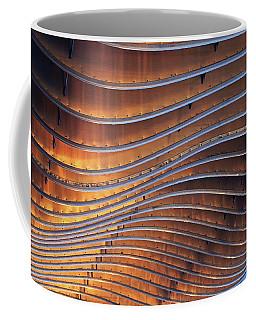 Ribbons Of Steel Coffee Mug