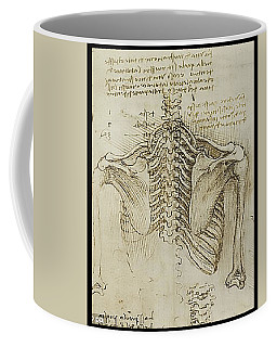 Coffee Mug featuring the painting Ribcage Main by James Christopher Hill