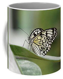 Coffee Mug featuring the photograph Rice Paper Butterfly - 2 by Paul Gulliver