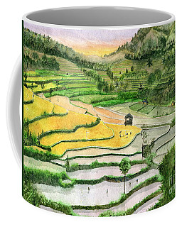 Ricefield Terrace II Coffee Mug