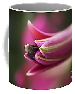 Rich Pink Lily Bud Coffee Mug