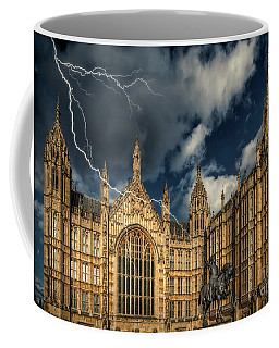 Coffee Mug featuring the photograph Richard The Lionheart by Adrian Evans