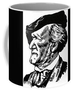 Richard Wagner Portrait By Felix Edouard Vallotton Coffee Mug